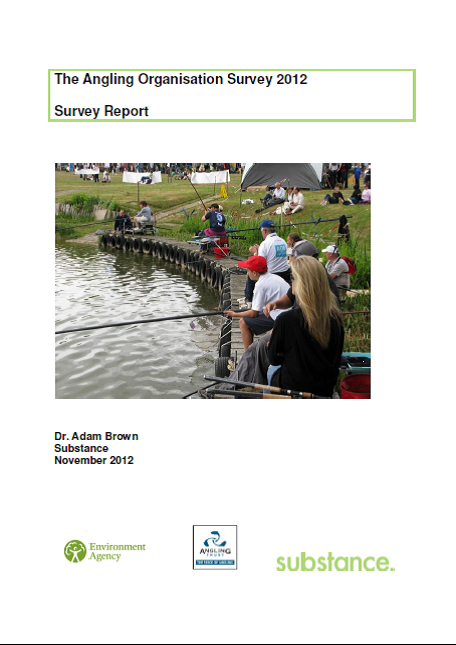 Download Angling Organisation Survey 2012