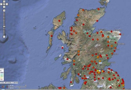 Scottish Fishing Locations