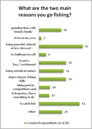 Young people's motivations for angling